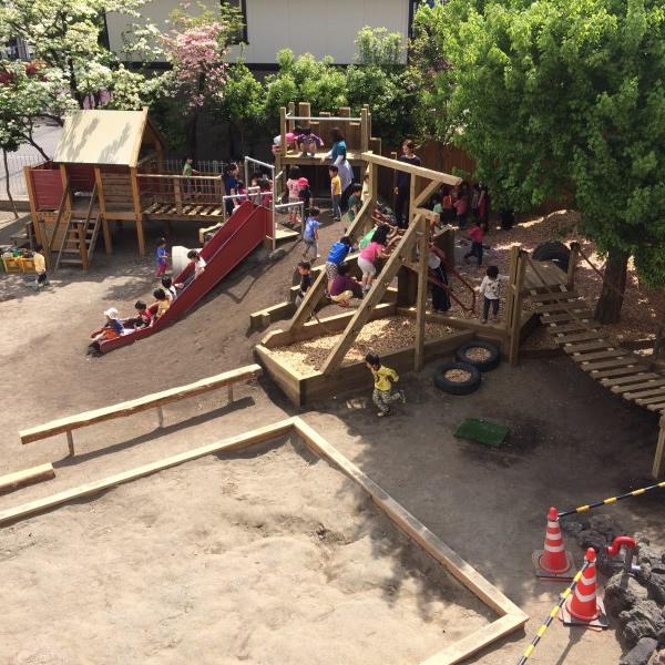 群馬県高崎市の保育園(杉の子保育園様)の園庭のリフォーム