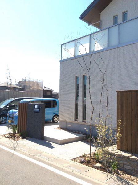 地域の憩いの場へ 表情のあるお庭|外構造園工事|上尾市