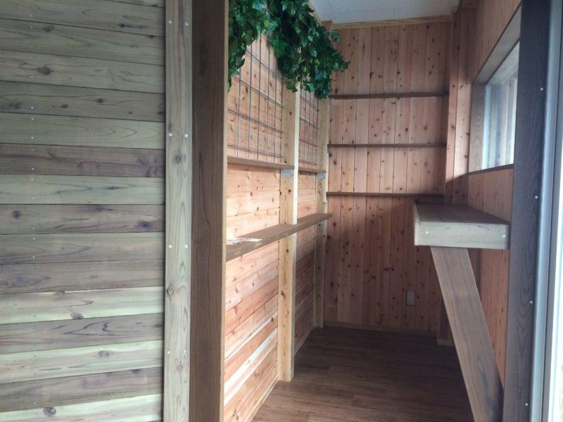 事務所の外装・内装の創作リフォーム工事|群馬県高崎市