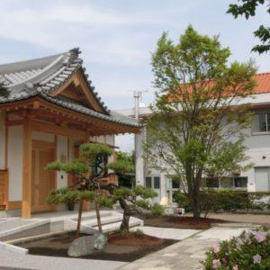 寺院のお庭改修工事