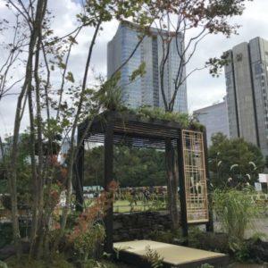 日比谷ガーデニングショー2018 庭園出展しました!