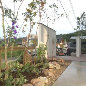 時間とともに変化し、成長するお庭|造園外構工事|みなかみ町