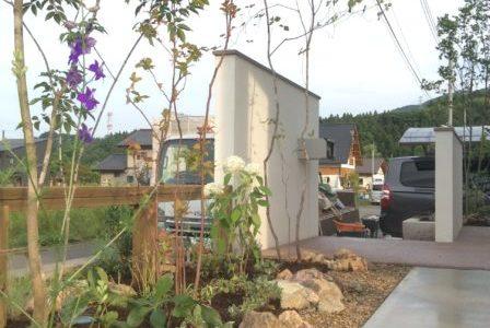 時間とともに変化し、成長するお庭 造園外構工事 みなかみ町