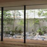 自然と調和する雑木の庭5