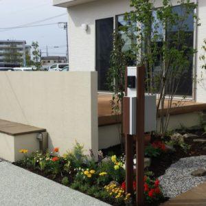花や下草を楽しむお庭|ガーデニング・外構エクステリア|静岡県浜松市