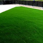 鮮やかな人工芝