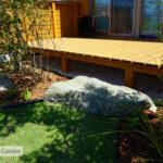 For example,沓脱石(くつぬぎいし)は天然の石をステップの代わりに置いたもの。重厚感があり、お庭を格上げしてくれます。
